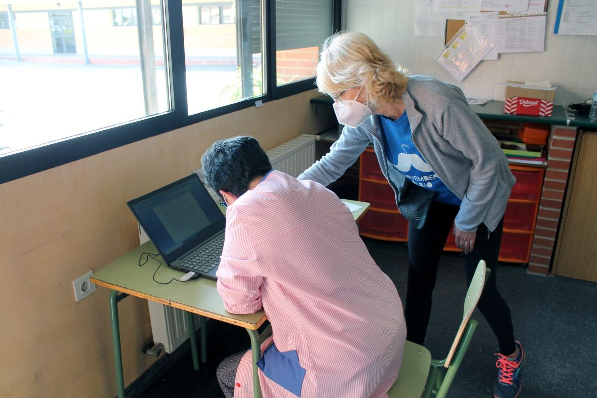 El uso de las nuevas tecnologías ha ayudado mucho también en el centro ocupacional