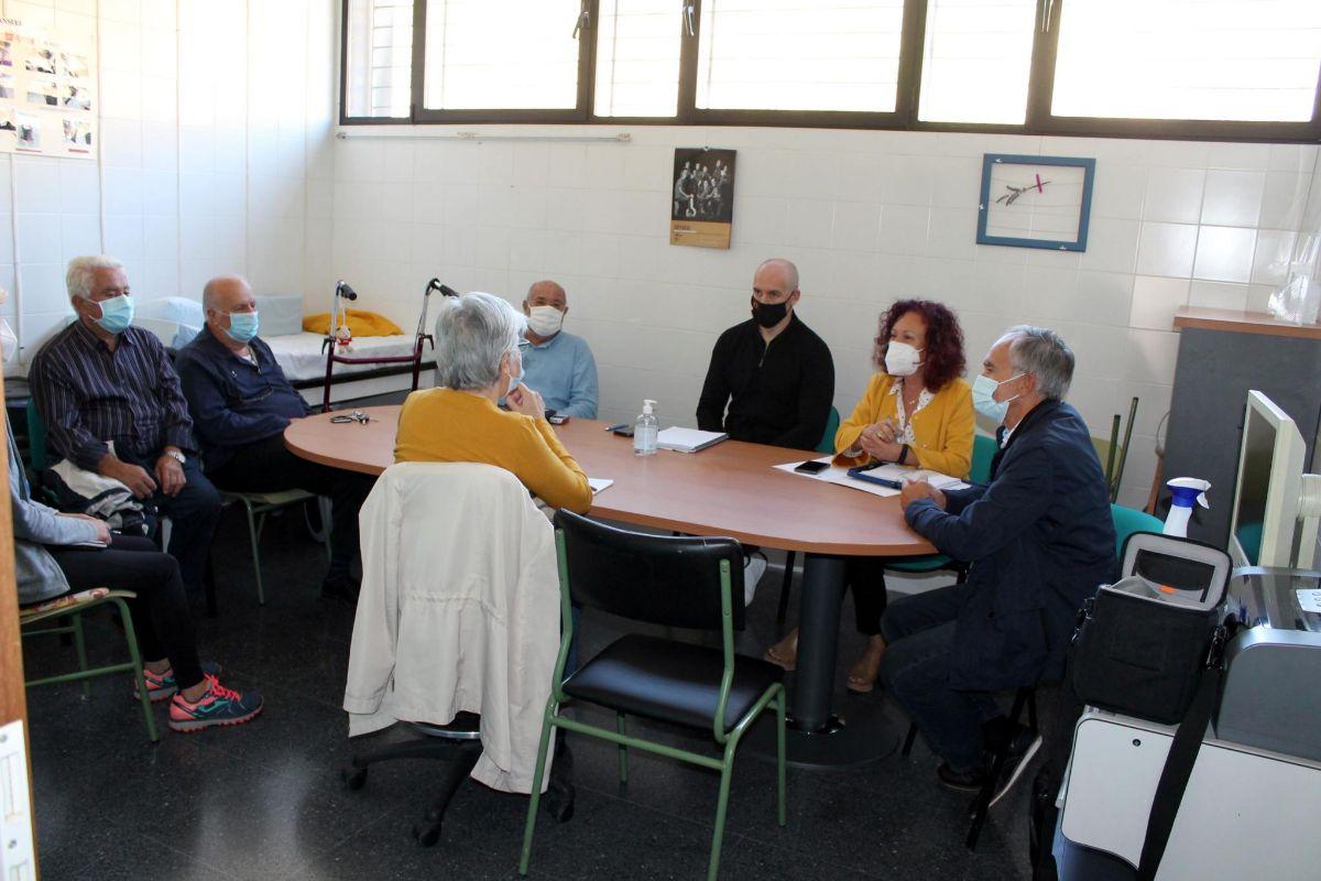 La junta directiva de Aspromin y los responsables de la residencia y el centro ocupacional y centro de día se reúnen cada dos semanas.