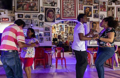 El mítico bar de salsa El Chorrillo Antillano.