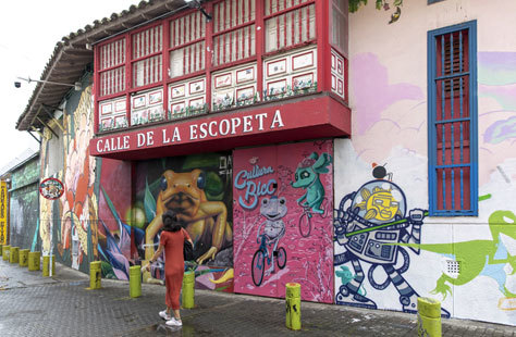 La calle de la Escopeta, en el centro de la ciudad.
