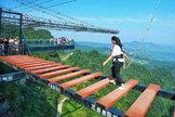 En precipicios y sin barandilla: así es el parque de atracciones más peligroso del planeta