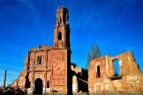 Ruinas del pueblo fantasma de Belchite (Zaragoza).