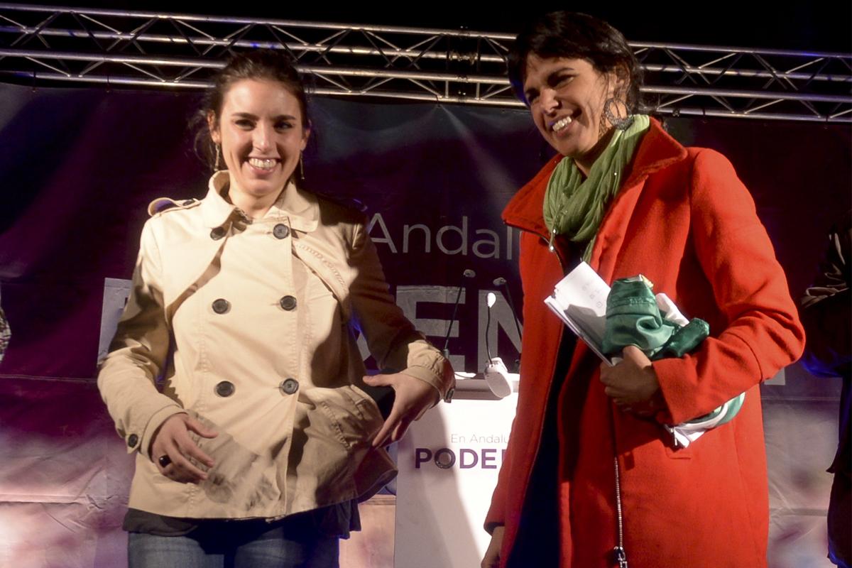 """Malestar 'feminista' con Irene Montero y Teresa Rodríguez por """"usar a las mujeres"""" en su """"guerra de poder"""""""