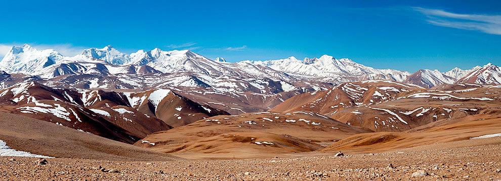 El Gran Cañón de Yarlung Zangbo, en el sudeste de Tíbet.