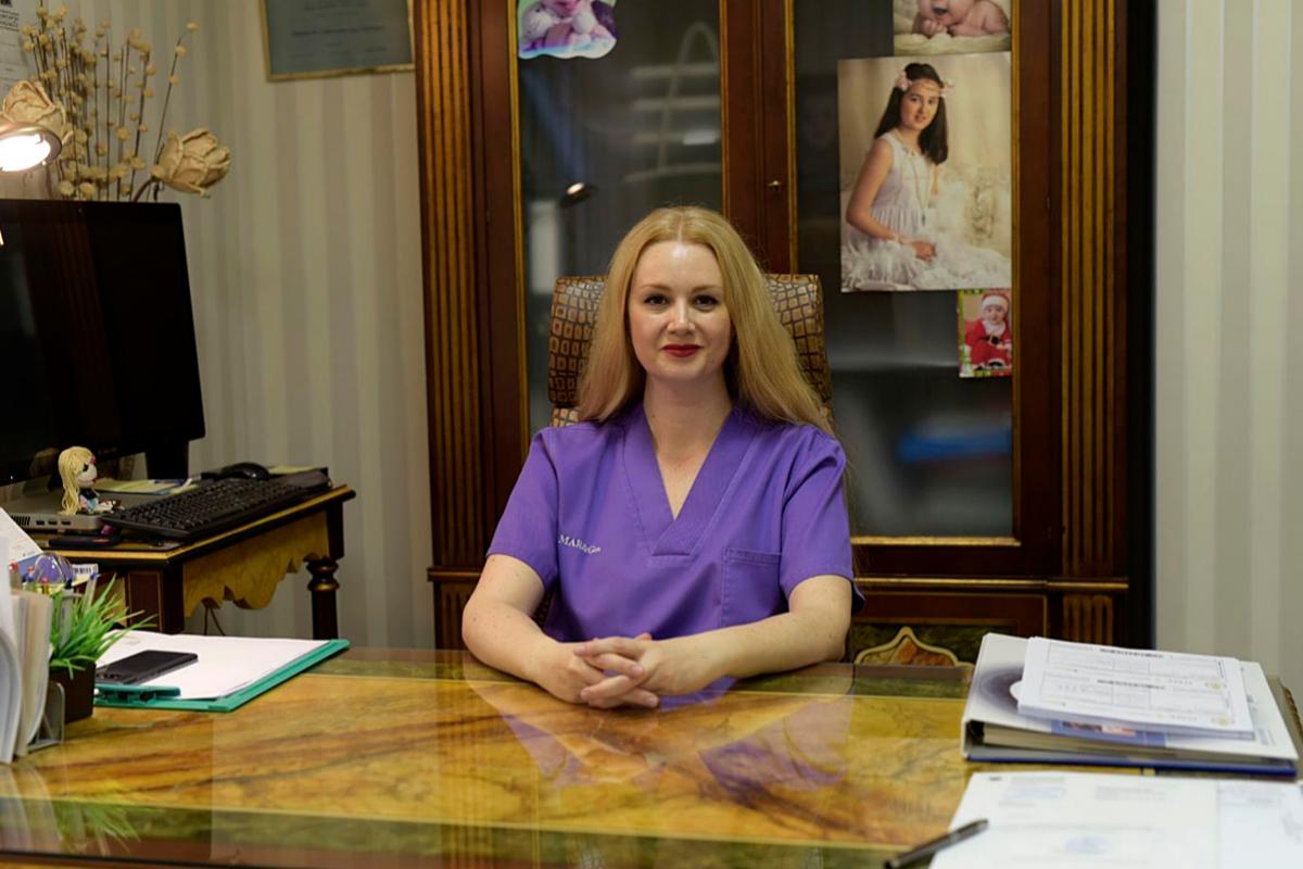 La doctora Raquel Mendoza Tesarik, especialista en reproducción humana, que firma con su padre la investigación.