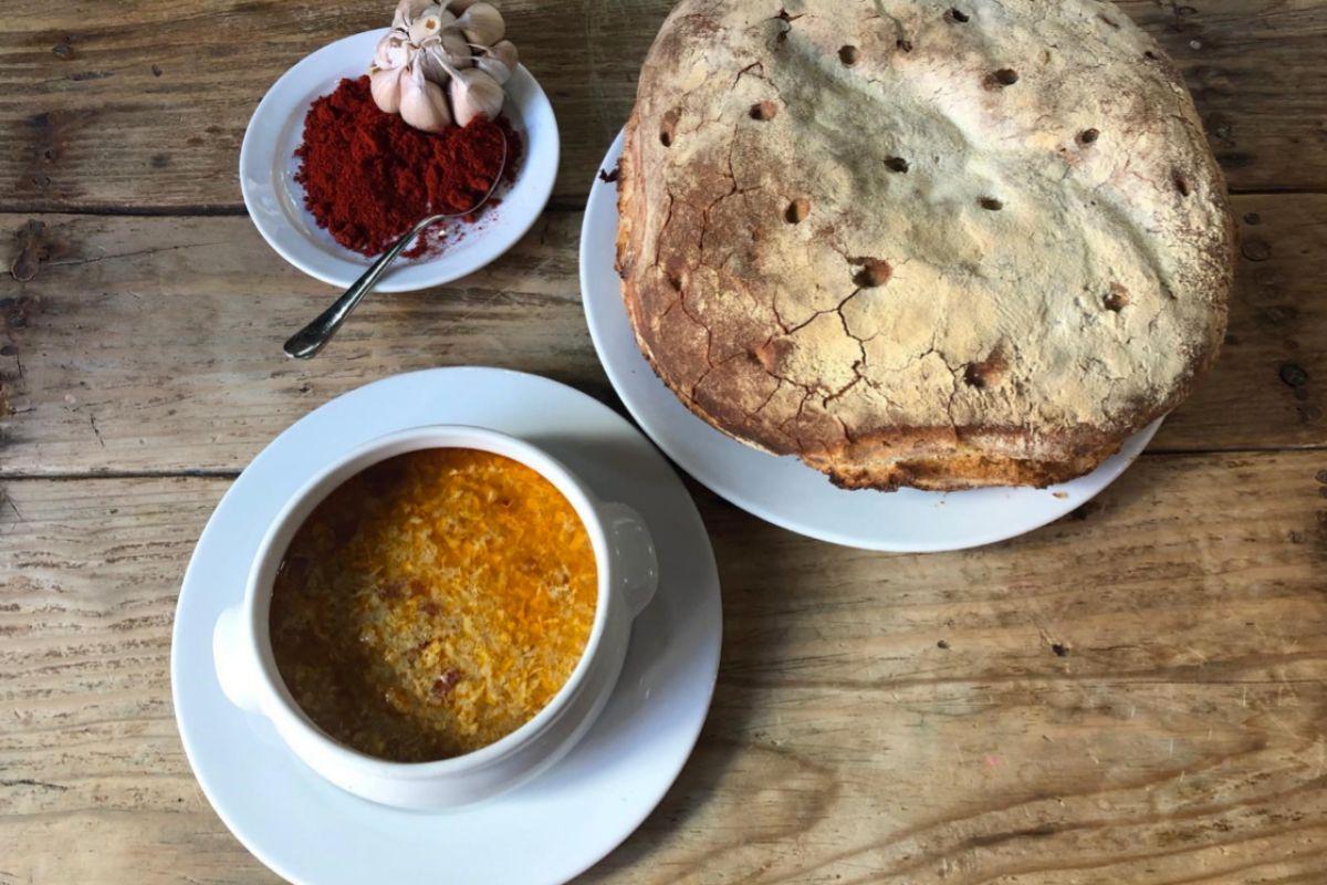 La sopa castellana de Ponzano.