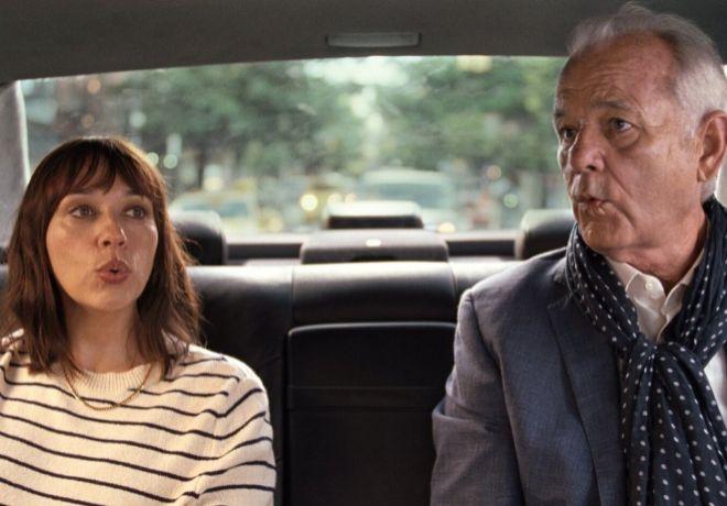 Laura (Rashida Jones) y Felix (Bill Murray) son los personajes principales del filme.