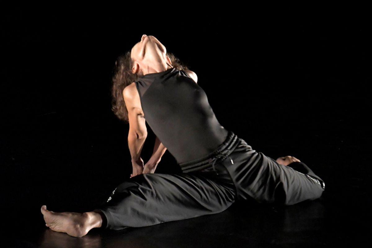 Christine Cloux en una representación de 'Tout finira bien'.