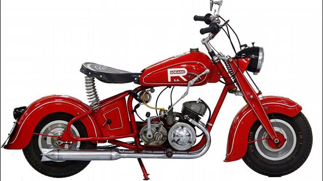 Soriano fabricó más de 6.000 ejemplares de estas pequeñas motos