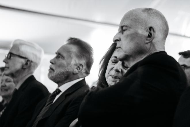 Los tres últimos gobernadores de California: Gray Davis, Arnold Schwarzenegger y Jerry Brown. / EDUARDO EZEQUIEL