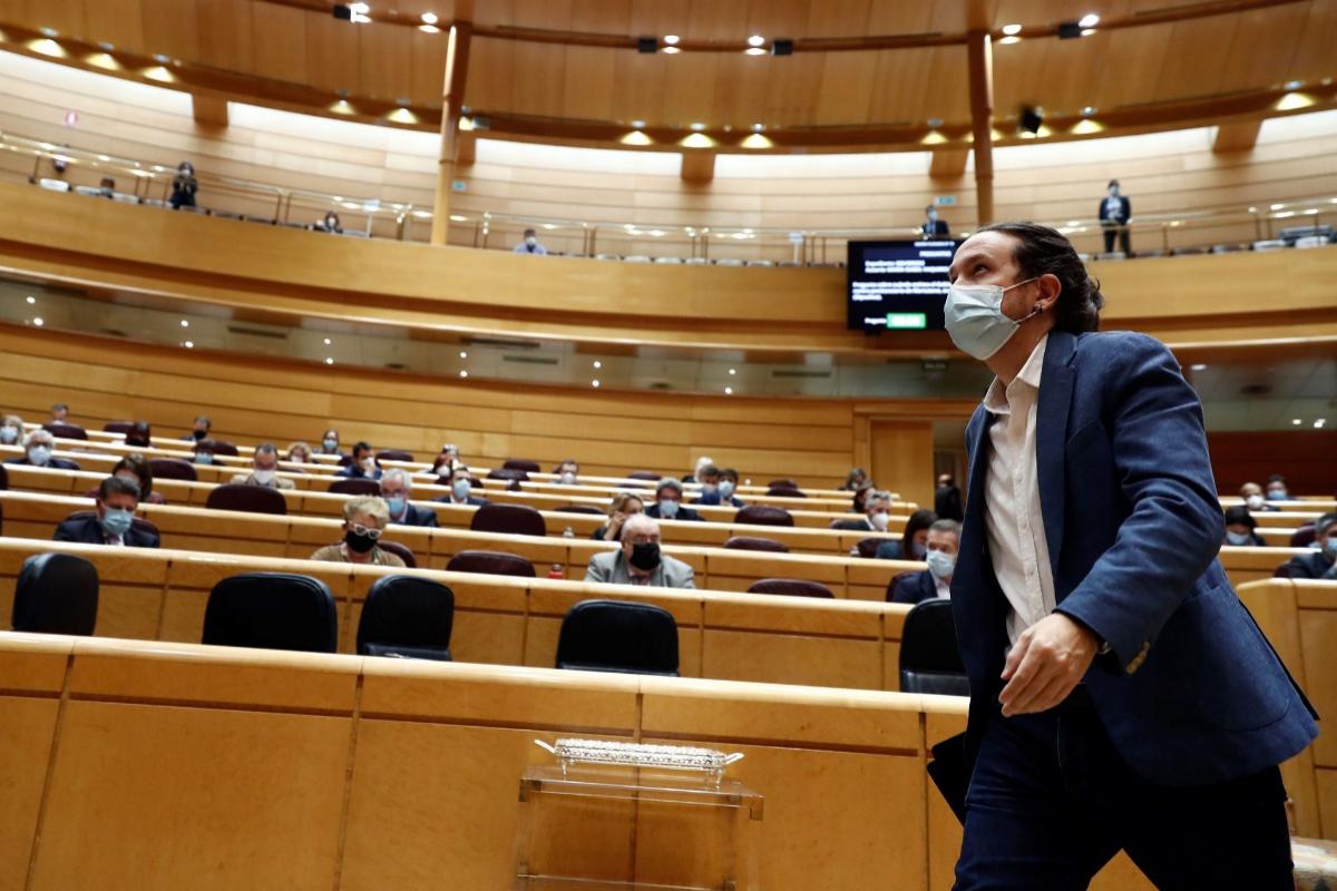 Pablo Iglesias ensaya su alianza con el activismo social para 'colocar' sus políticas antes de que Pedro Sánchez tenga Presupuestos
