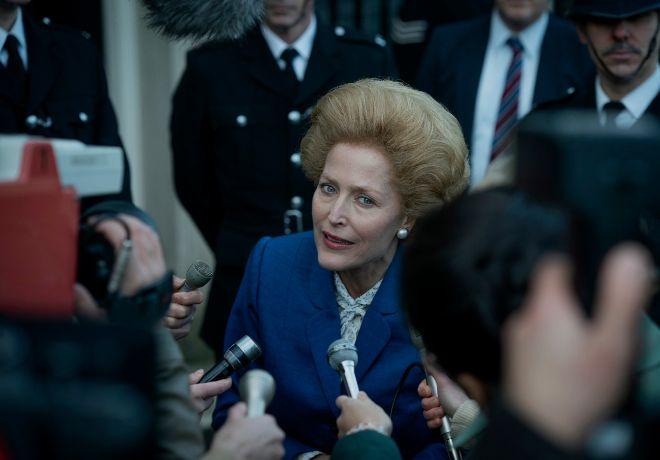 Gillian Anderson se incorpora a -The Crown- y da vida a Margaret Thatcher.