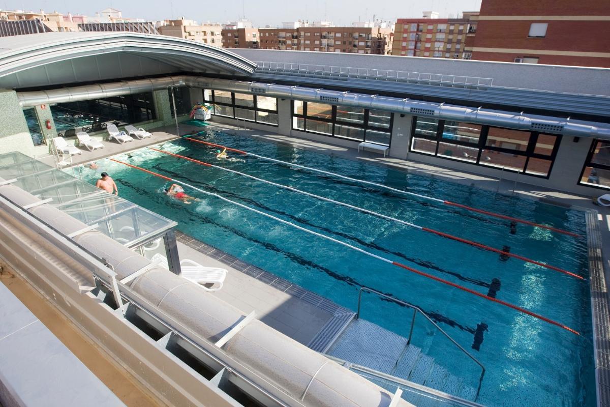 Instalaciones del Gimnasio Atalanta en Valencia.