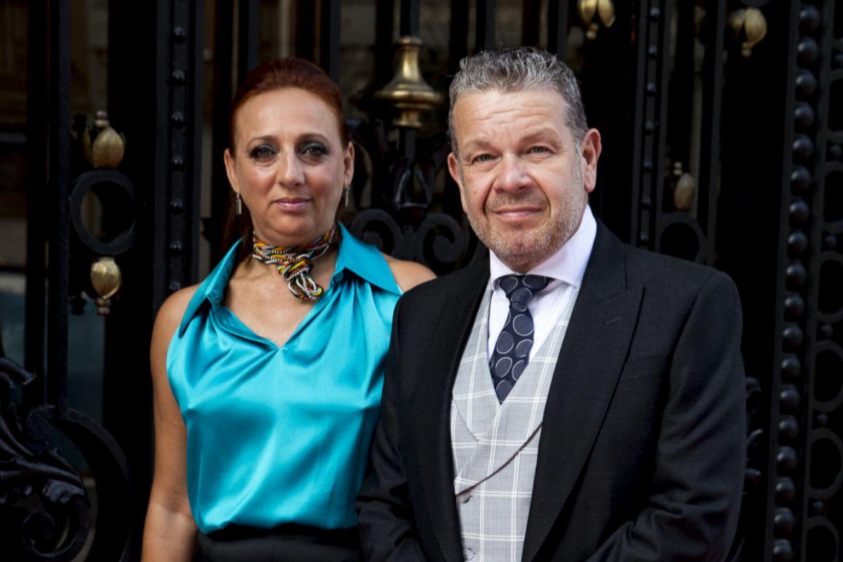 El chef y su pareja y compañera profesional, Inma Núñez.