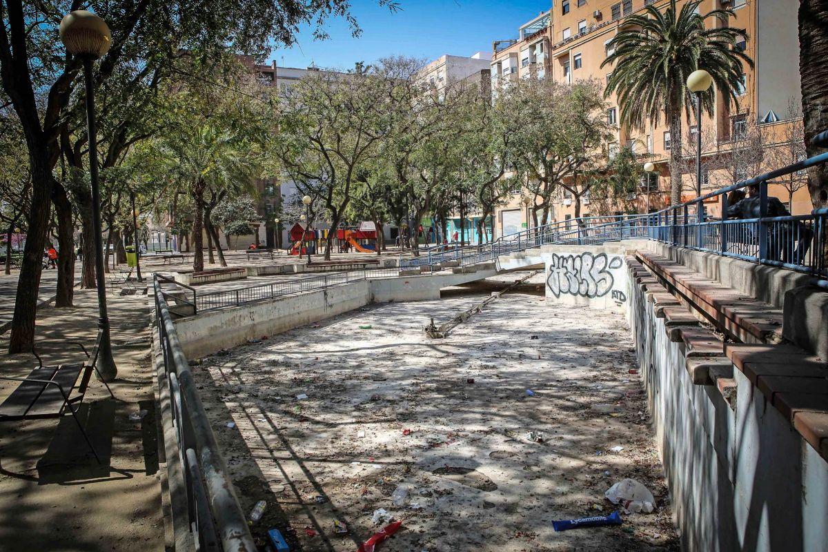 Imagen del parque de Manuel Granero.