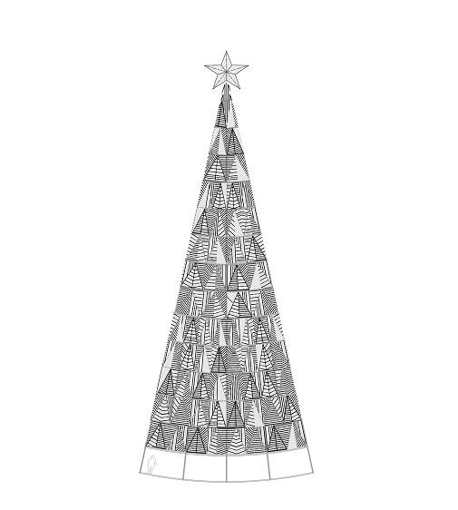 El árbol diseñado por Modesto Lomba. Foto: ACME.