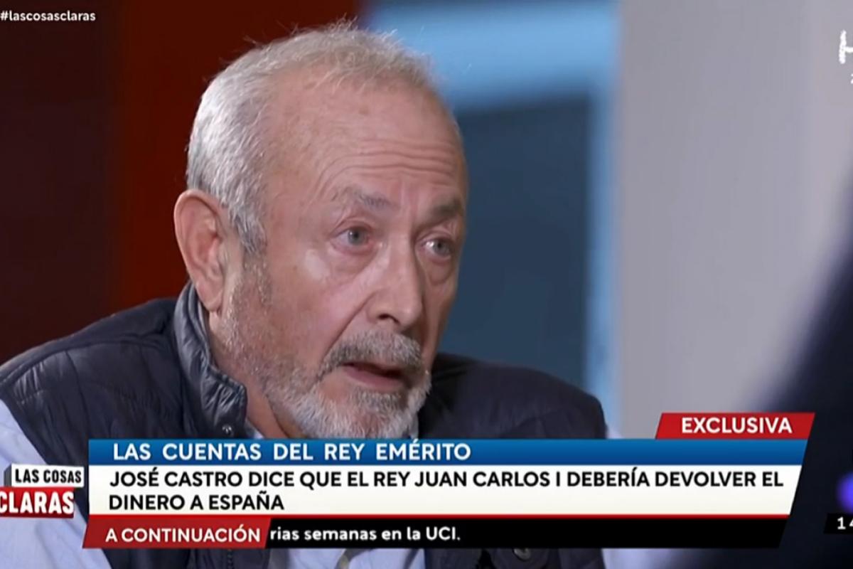 El juez Castro, en una entrevista exclusiva de 'Las cosas claras'.