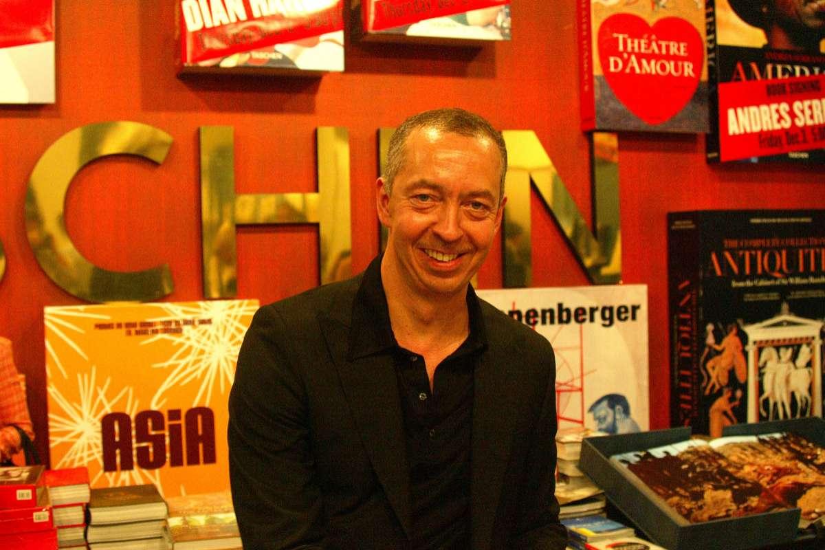 El editor, durante la promoción de sus libros en Miami, en una imagen de 2004.