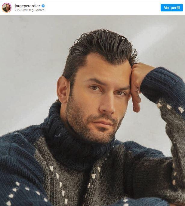 Jorge Pérez triunfa como modelo tras dejar la Guardia Civil