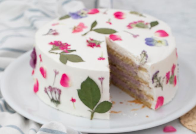 La tarta botánica.