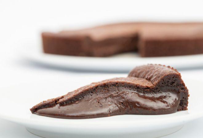 Tarta de chocolate,