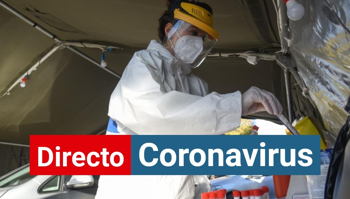 Laboratorio de pruebas de coronavirus en Montenegro.