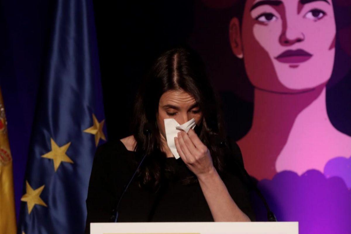 La minstra de Igualdad, Irene Montero, el pasado día 25.