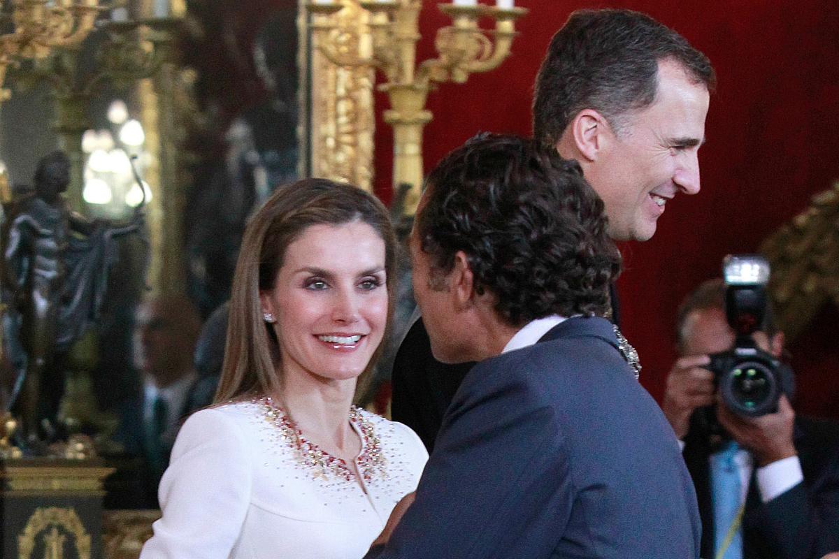 Álvaro Fuster también tiene una buena relación con la Reina.