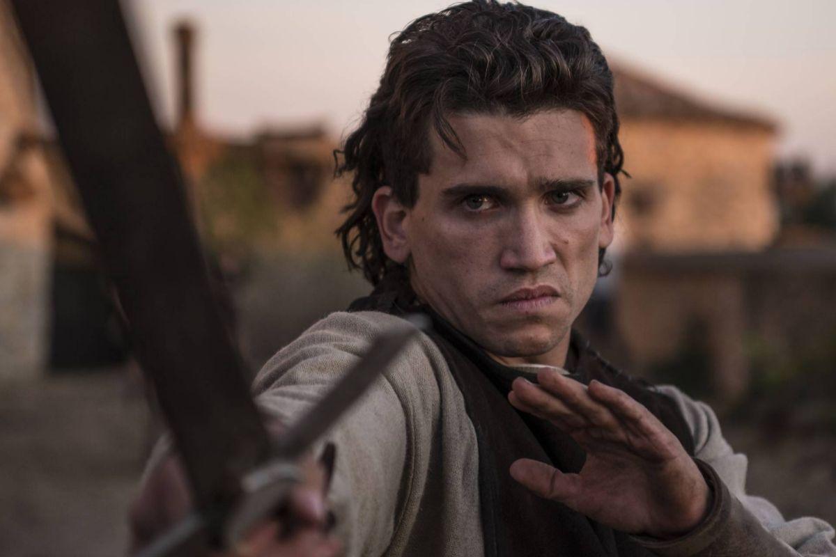 Jaime Lorente en 'El Cid', de Amazon Prime Video.