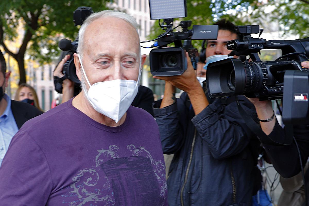 Josep Maria Mainat, a su llegada a los juzgados, el 25 de octubre.