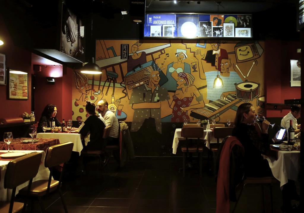 Discoteca convertida en restaurante en el centro de Madrid