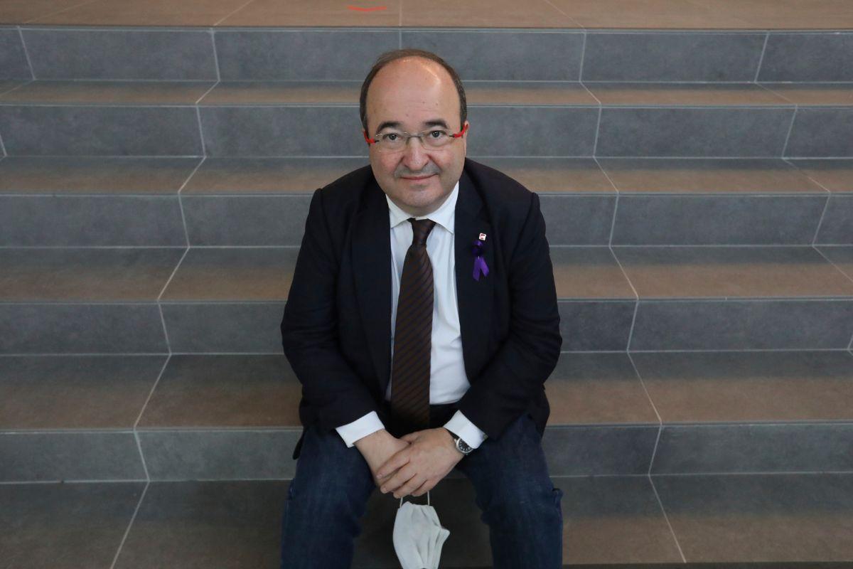 """Miquel Iceta: """"No pactaré con nadie que quiera la independencia"""""""
