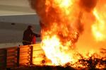 Grosjean sale vivo entre las llamas tras el accidente más grave de la historia reciente de la F1