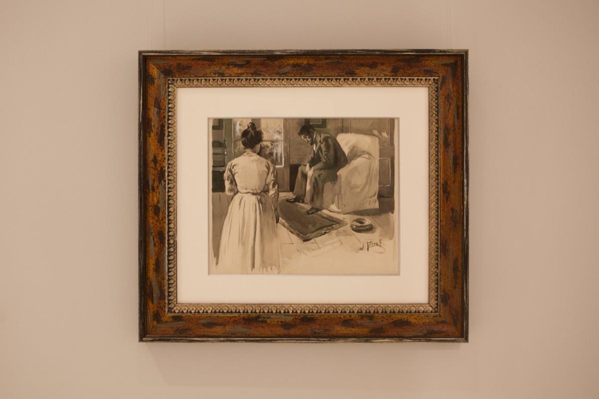 'Duelo', de Joaquín Torres-García, de 1898.