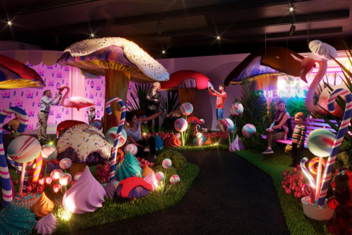 El Sweet Space Museum abre sus puertas en el Centro Comercial ABC Serrano.