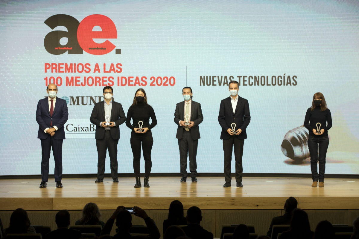 Premiados en nuevas tecnologías