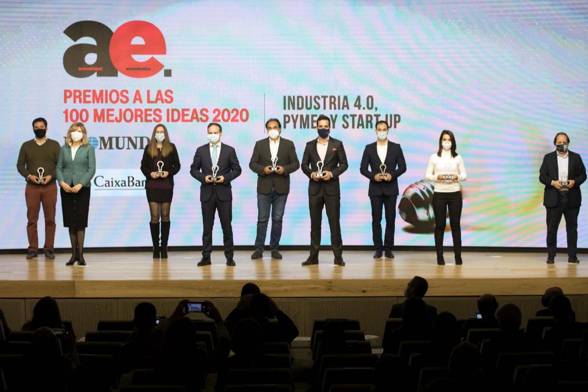 Premiados en industria 4.0, pymes y start ups