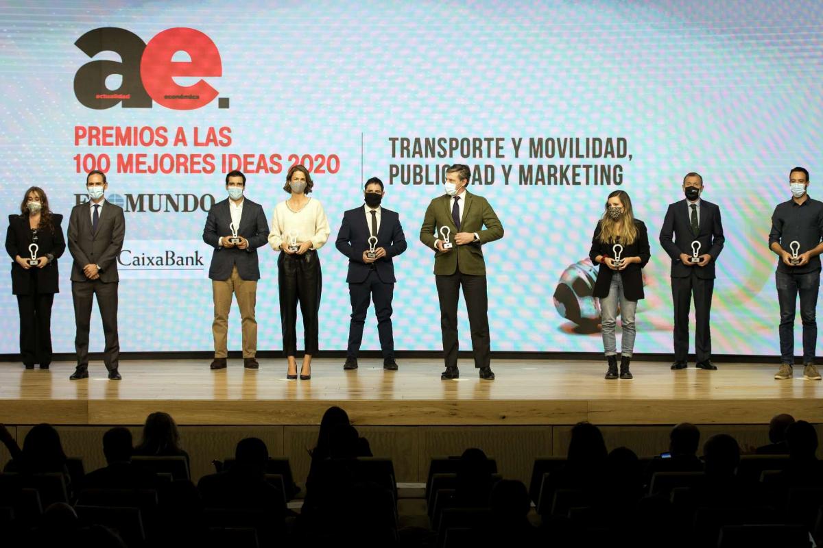 Premiados en transporte, movildiad y marketing