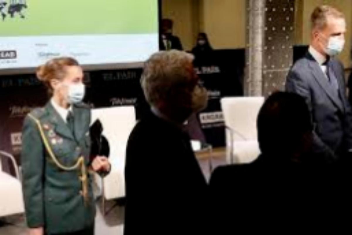 Una comandante de la Guardia Civil es la única mujer del Cuarto Militar.