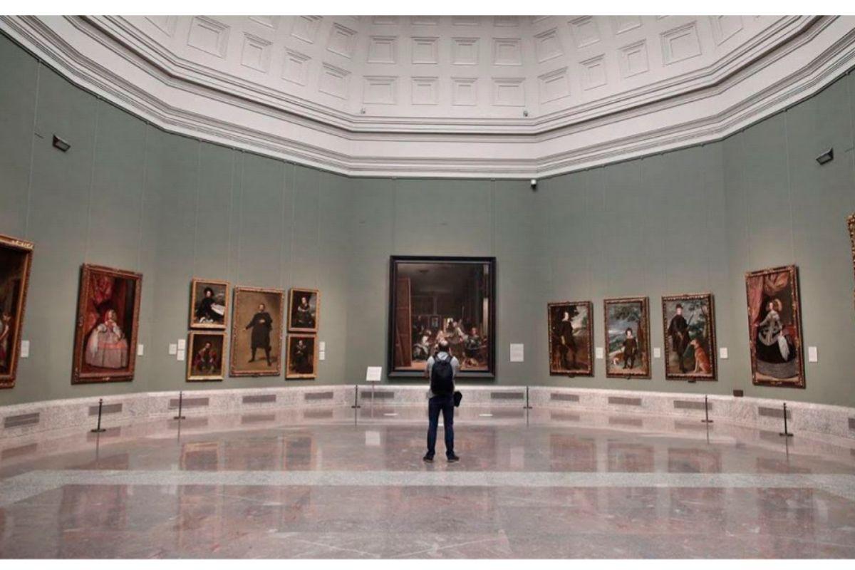 Interior del Museo Nacional del Prado.