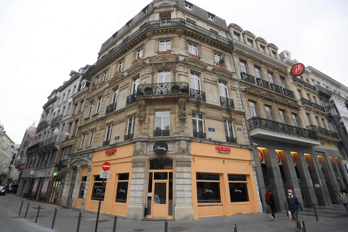 El bar Monroe, donde Szájer fue detenido tras haber participado en la orgía.