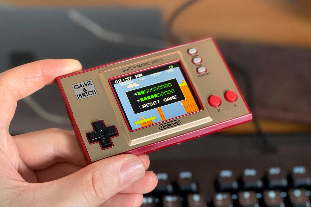 Game&Watch Super Mario Bros: La consola 'anticuada' de Nintendo para estas Navidades