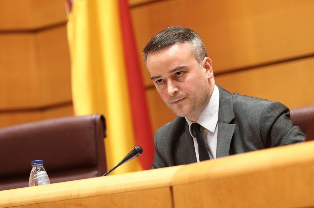 Iván Redondo, durante una comparecencia en el Senado.