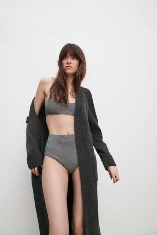 La colección incluye prendas de ropa interior. Foto: cortesía de Zara.