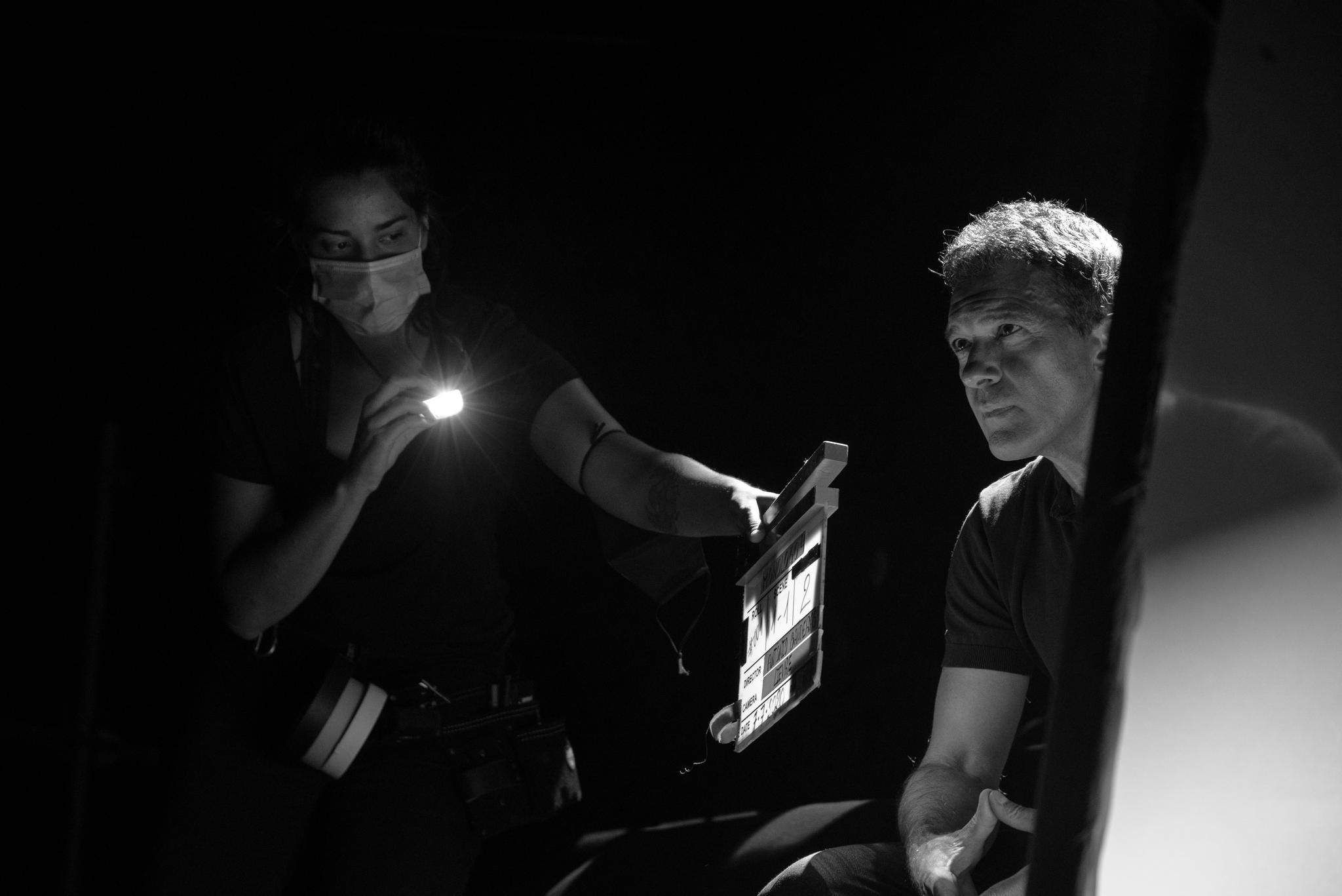 Antonio Banderas, en 'Escena en Blanco & Negro'.
