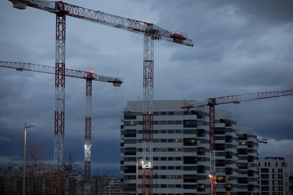 Promoción de viviendas en el norte de Madrid.