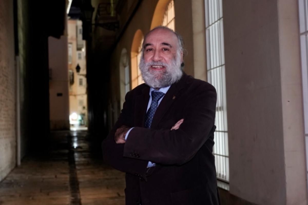 El presidente del Unión Sanitaria y decano Col·legi de Psicologia de la Comunitat Valenciana, Francisco Santolaya.