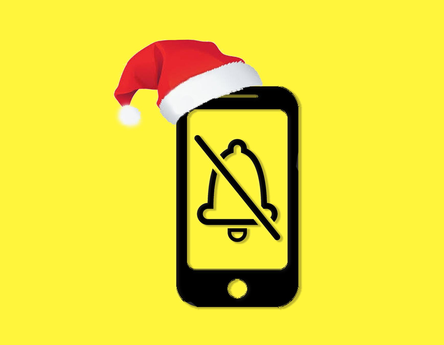 Cómo desconectar del móvil estas navidades