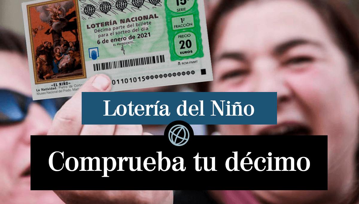 Comprobar Loteria del Niño 2021