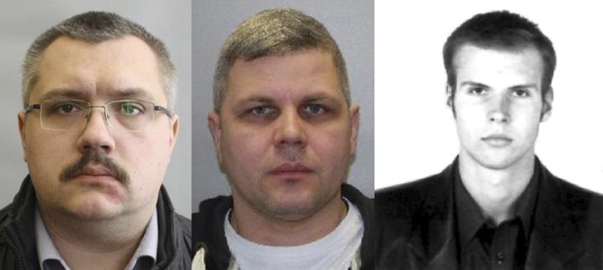 Alexey Alexandrov, Ivan Osipov y Vladimir Panyaev.